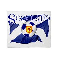Scotland football flag Throw Blanket