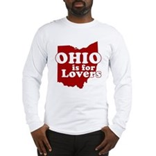 Ohio is for Lovers Long Sleeve T-Shirt
