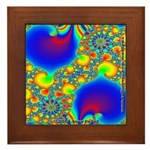 Fractal R~07 Framed Tile