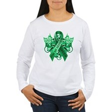 I Wear Green for my Nephew Long Sleeve T-Shirt