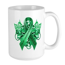 I Wear Green for my Granddaughter Mug