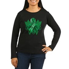 I Wear Green for my Wife Long Sleeve T-Shirt