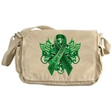I Wear Green for my Friend Messenger Bag