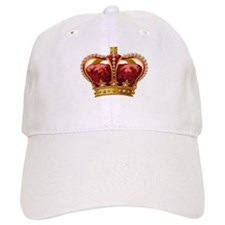 Vintage Royal Crown of Gold Baseball Baseball Cap
