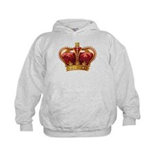 Vintage Royal Crown of Gold Hoodie