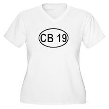 CB Channel 19 Plus Size T-Shirt