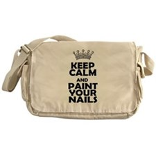 Paint your Nails T Messenger Bag