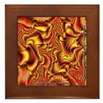 Fractal C~01 Framed Tile