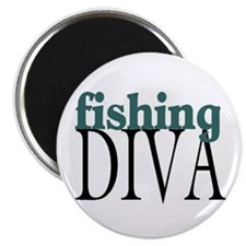 Fishing Diva Magnet