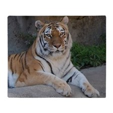 Bengal Tiger Throw Blanket