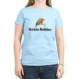 Rockin Robbins Women's Tee (Black) T-Shirt