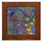 Fractal C~13 Framed Tile