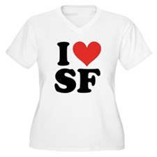 I Heart Personalized Plus Size T-Shirt