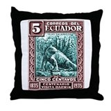 1936 Ecuador Galapagos Land Iguana Postage Stamp T