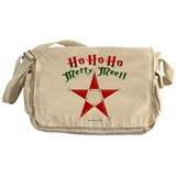 HoHoHoPentacleWhite.png Messenger Bag