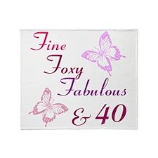 Fine 40 (9) Throw Blanket