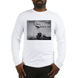 Proud to be a WW 2 Vet Long Sleeve T-Shirt