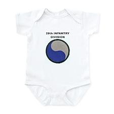 29TH INFANTRY DIVISION Infant Bodysuit