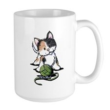 Playful Calico Kitten Mug