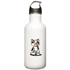 Calico Patches Water Bottle