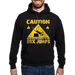 CAUTION BOX JUMPS - BLACK Hoodie