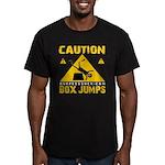 CAUTION BOX JUMPS - BLACK T-Shirt