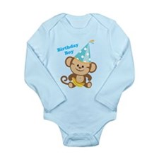 Birthday Boy Monkey Body Suit