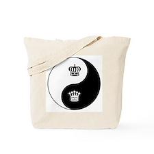King-Queen yin yang Tote Bag