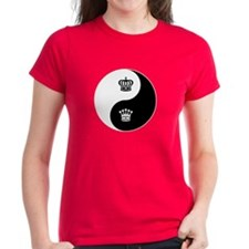 King-Queen yin yang Tee