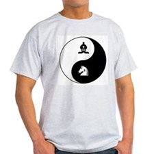 Bishop-Knight yin yang T-Shirt