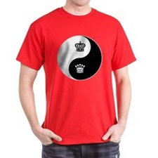 King-Queen yin yang T-Shirt