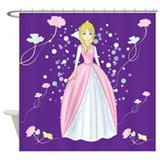 Princess Bella Shower Curtain