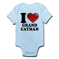 I Heart Grand Cayman Body Suit