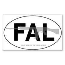 FAL Oval Decal