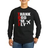 TGIF Thank God Im Fly Long Sleeve T-Shirt