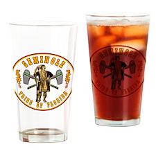 Vintage Seminole Tribe of Florida. Drinking Glass