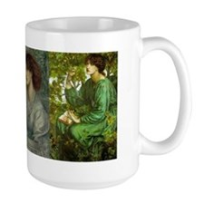 Jane Morris by Rossetti Wraparound Mug