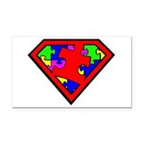 Autism is a Super Power Rectangle Car Magnet