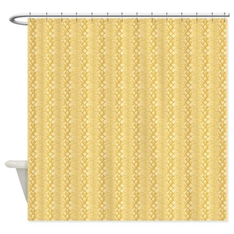 Navy And Gold Curtains Blue Print Shower Curtains
