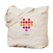 I Heart Nikki Tote Bag