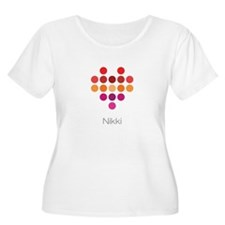 I Heart Nikki Plus Size T-Shirt