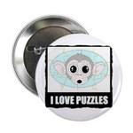 I LOVE PUZZLES Button