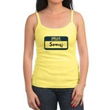 Hello: Semaj Tank Top