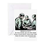 Veins Fact Greeting Cards (Pk of 10)