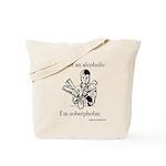Soberphobic Tote Bag