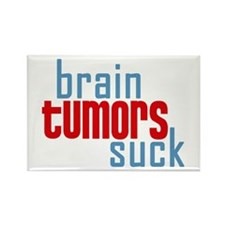 3-braintumorssuck.jpg Rectangle Magnet (10 pack)