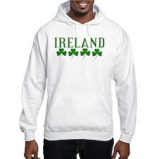 Ireland Shamrocks Hoodie