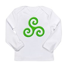 Triskele-Symbol 3 Long Sleeve Infant T-Shirt