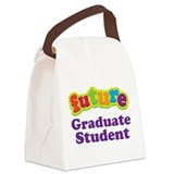 Future Graduate Student Canvas Lunch Bag