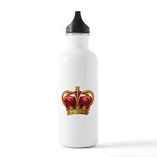 Vintage Royal Crown of Gold Water Bottle